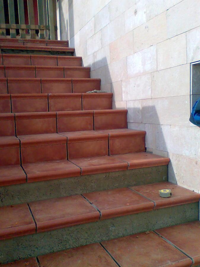 remate de escaleras