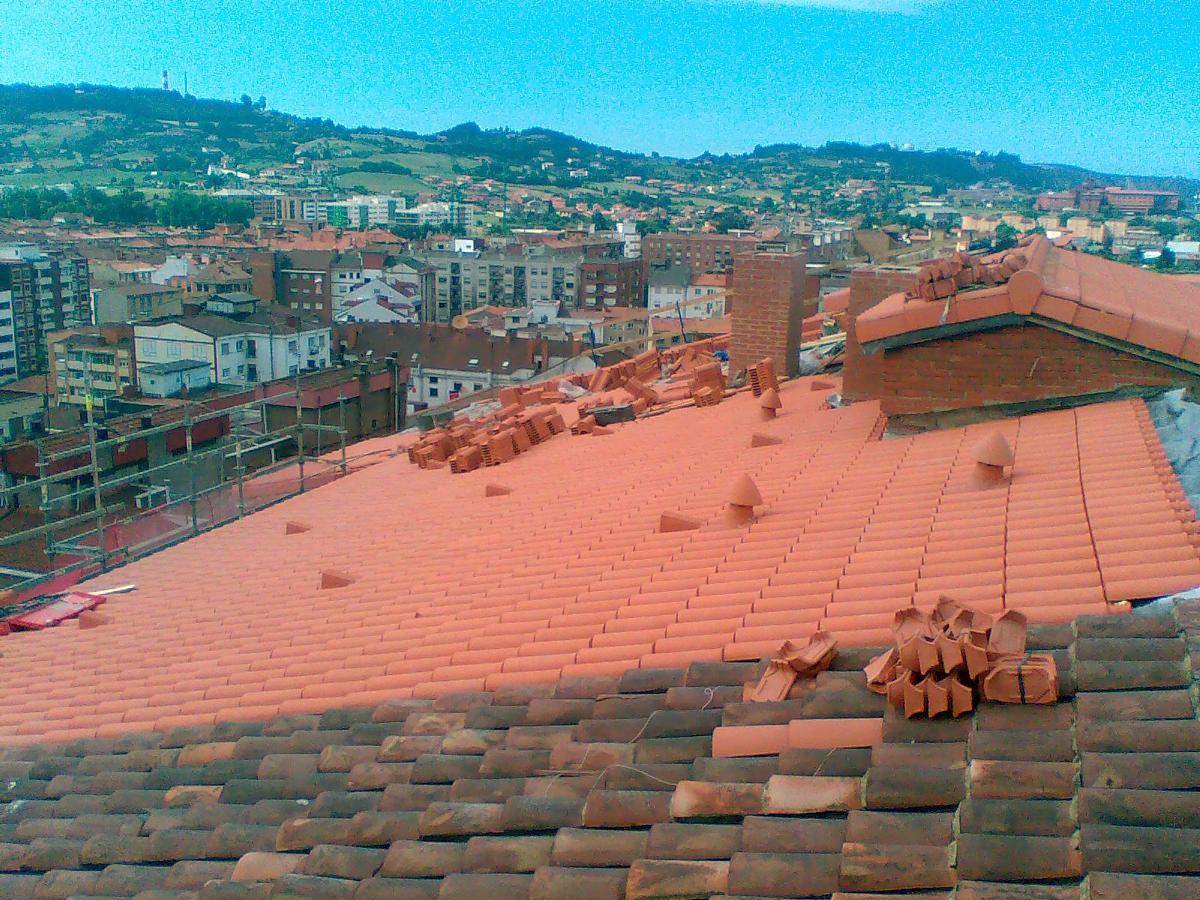 remate de tejado teja mixta