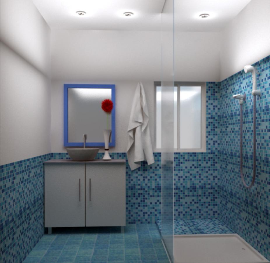 Render diseño de baño 1