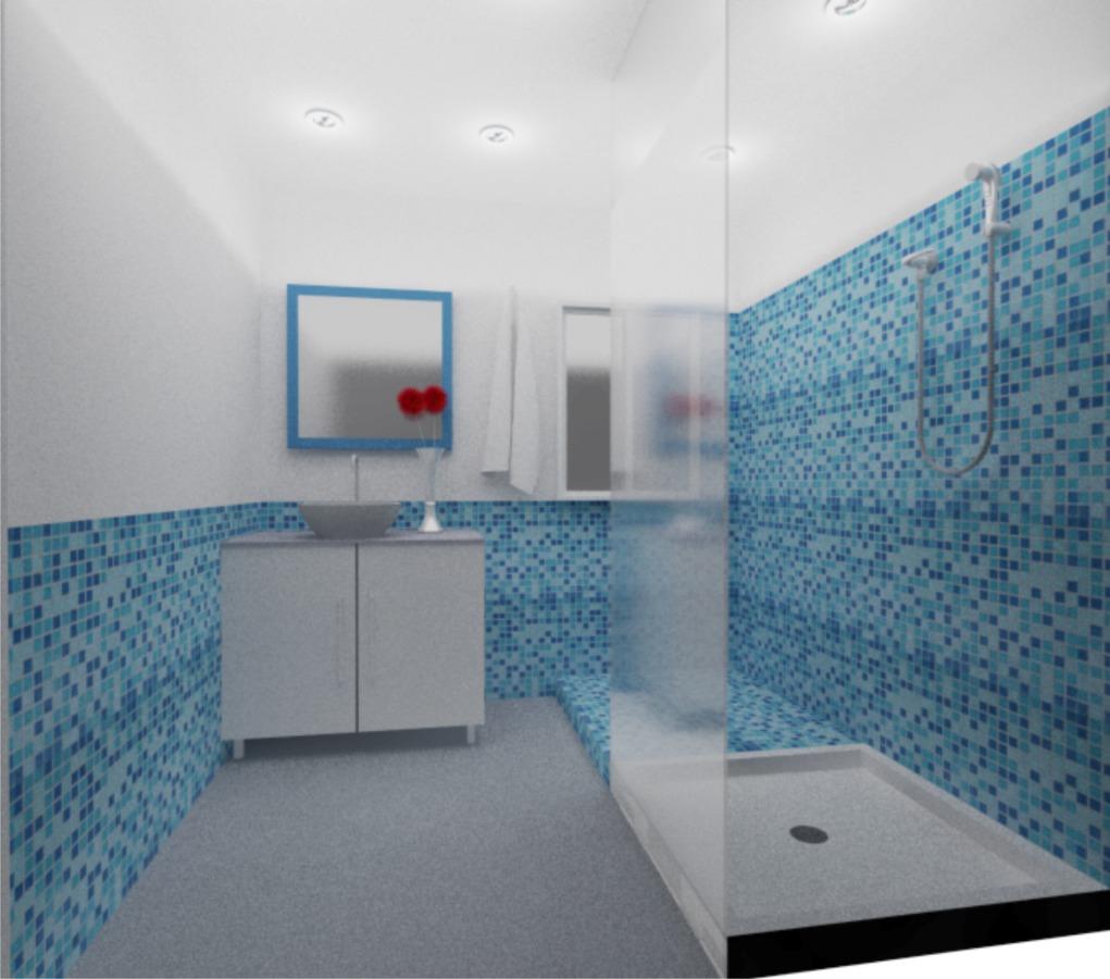 Render diseño de baño 3