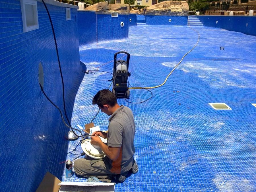 Reparación de fugas en piscinas