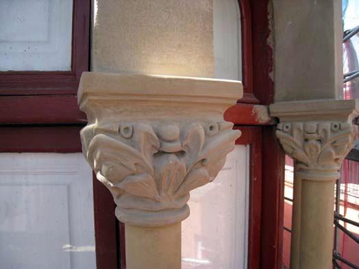 Reparación de piedra artificial