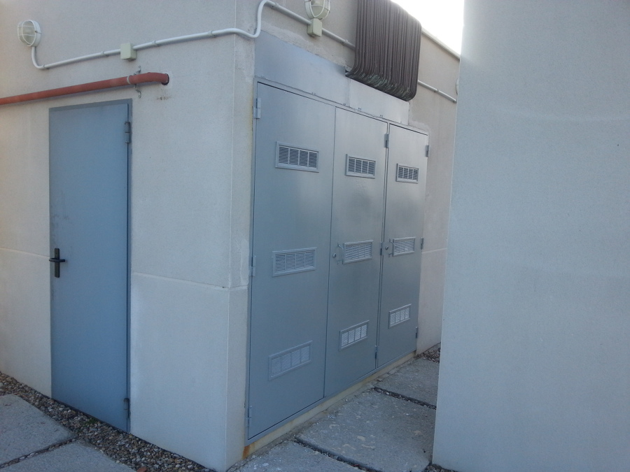 Reparación de puertas de Cuarto de contadores