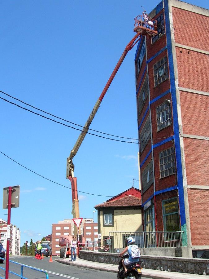 Reparacion edificio industrial