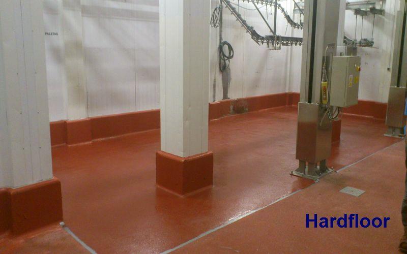 reparación suelo con mortero epoxi antideslizante