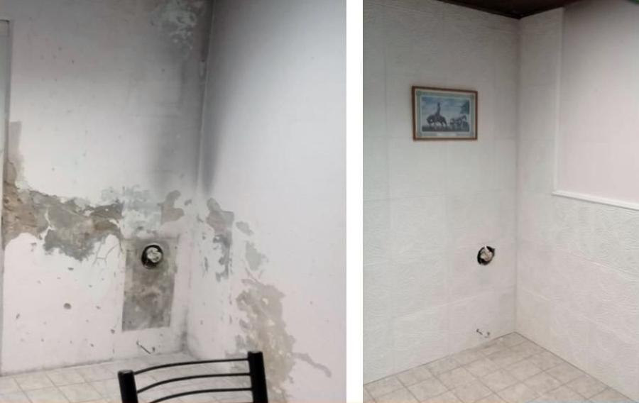Reparación de grietas, filtraciones y humedades en paredes