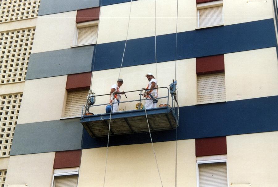Resanado de fachadas en San Fernando