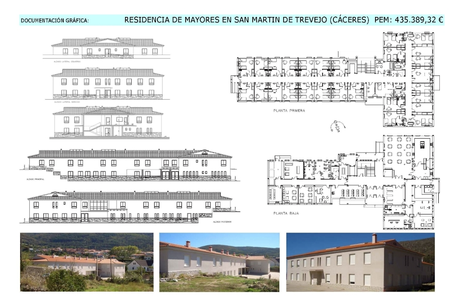 Residencia en San Martín de Trevejo (Cáceres)