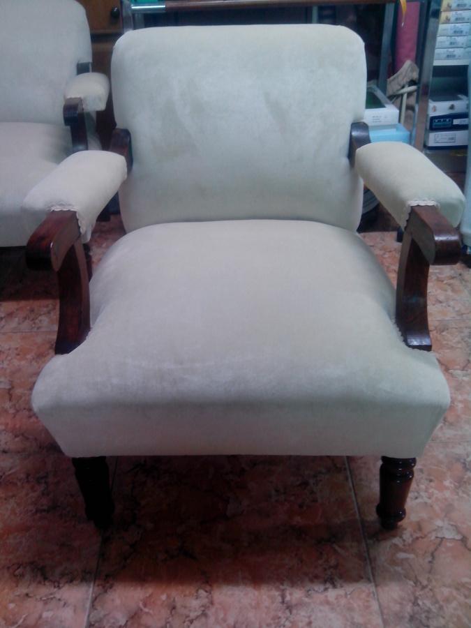 Foto restauracion butaca clasica de clasica tapiceria y - Tapiceros en salamanca ...