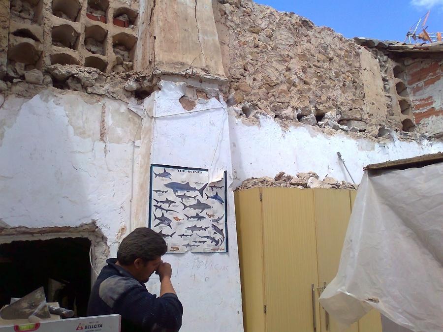 Foto restauracion de casas viejas de a g m reformas en for Restauracion de casas viejas