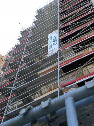 Restauración de Fachadas Corral 2