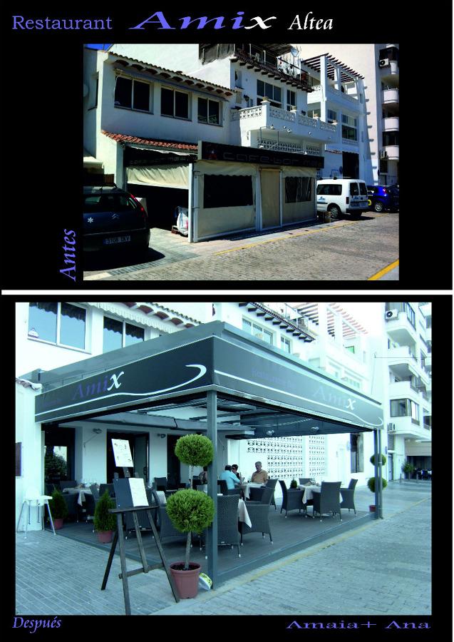 Restaurante Amix en Altea, Alicante.