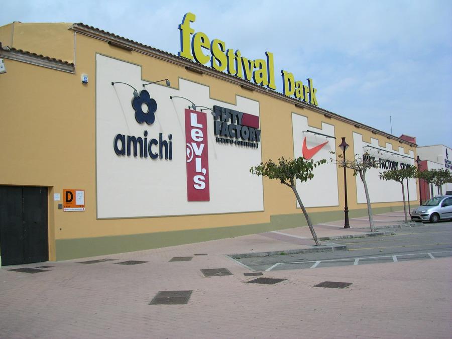 Revestimiento de fachada Centro Comercial Festival Park