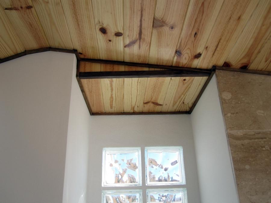 revestimiento techo madera