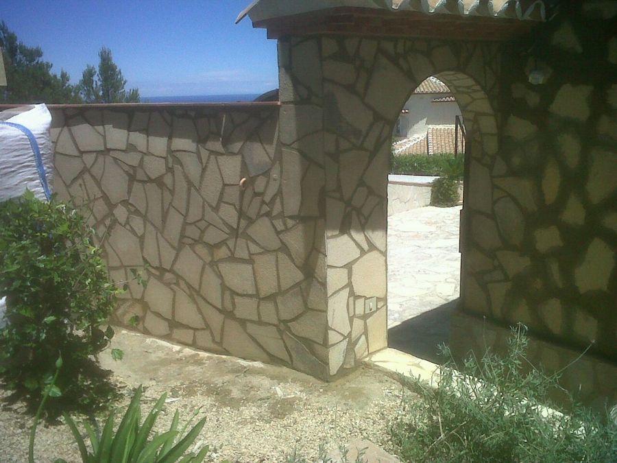 Foto revestimientos de piedra natural de pinturas decorate mediterraneo 700693 habitissimo - Revestimientos de piedra natural ...