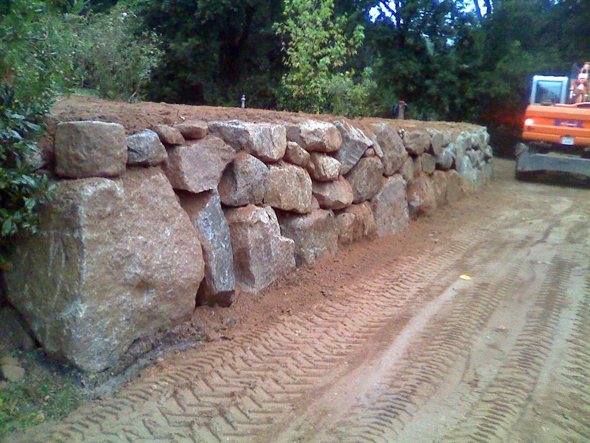 Muro de piedra precio muros y paredes de piedra arenisca Pared de piedra precio