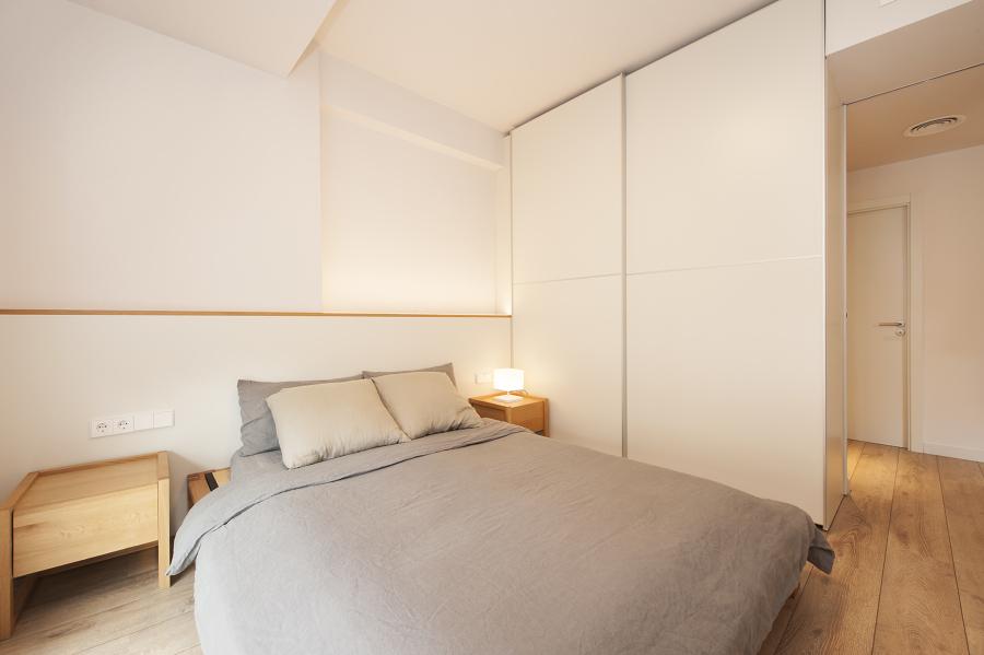 Dormitorio minimilista y de estilo nórdico | Sincro