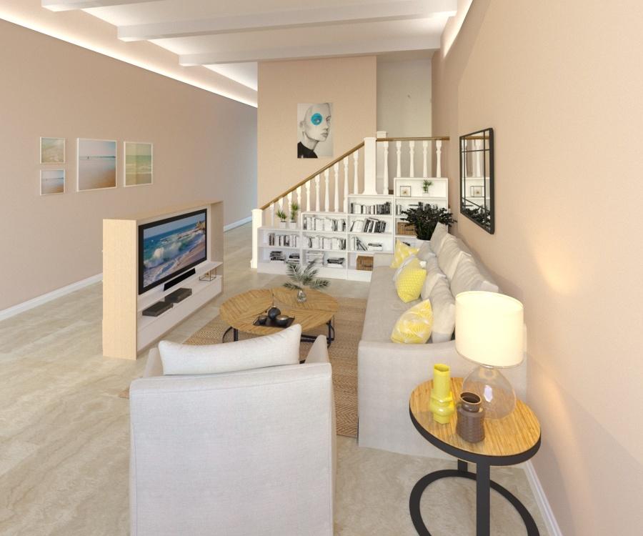 Render de una casa que hemos reformado en Badalona