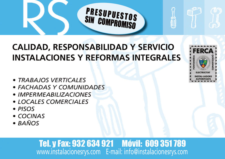 Foto rs instalaciones y reformas integrales de rs - Reformas integrales madrid opiniones ...