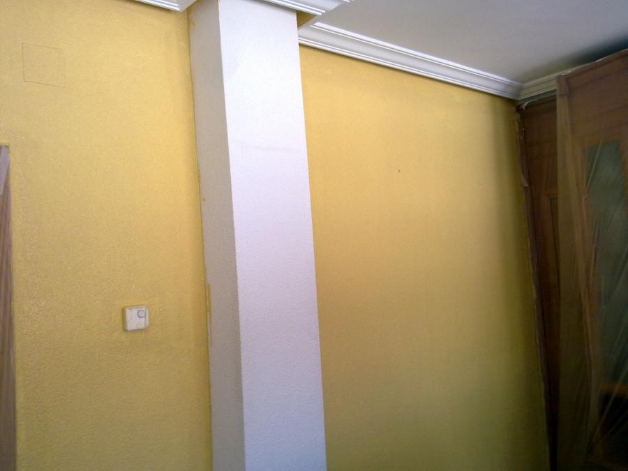 salon amarillo y verde