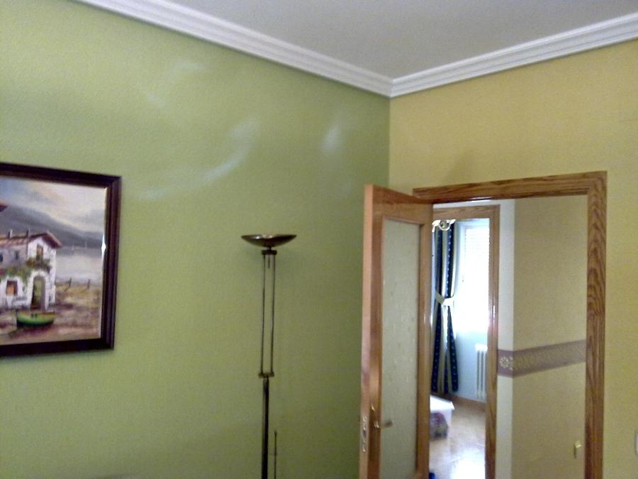 Foto salon amarillo y verde de decoraciones 2010 s l - Decoracion salones pintura ...