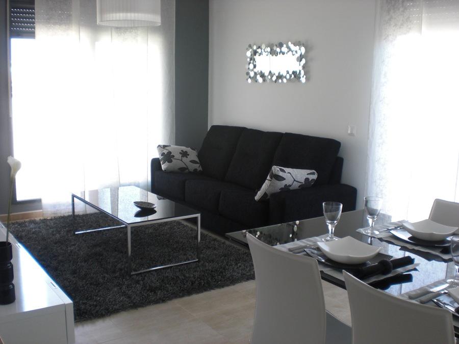 Foto sal n blanco y negro de nou mobiliari 711916 - Salon en blanco y negro ...