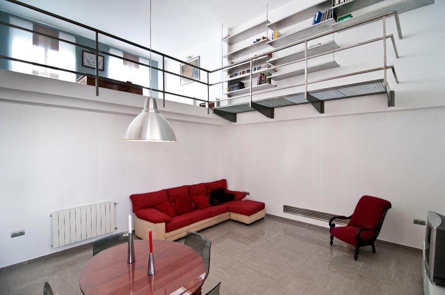 Foto sal n doble altura de areaarquitectura design - Salon doble altura ...