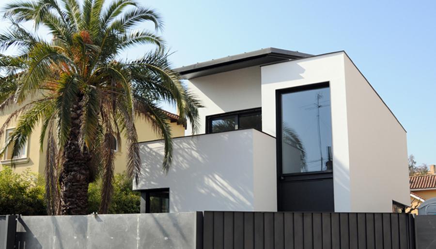 Foto obra nueva casa unifamiliar de mig 759344 habitissimo - Casa obra nueva ...