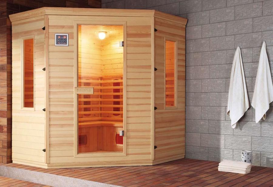 Sauna seca modelo AR-003