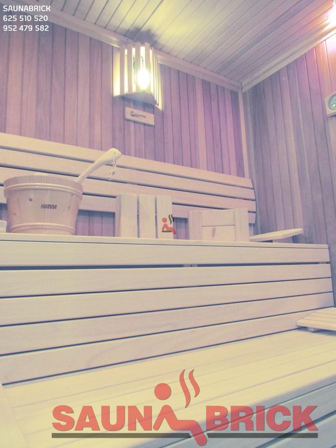 Sauna Finlandesa en Showroom