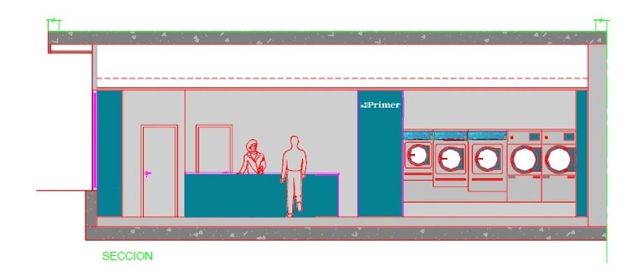 Proyecto adecuación local lavandería autoservicio