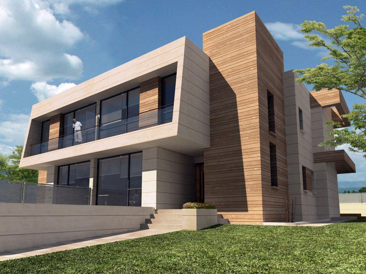 Foto seis viviendas unifamiliares pareadas en villanueva - Cb villanueva de la canada ...