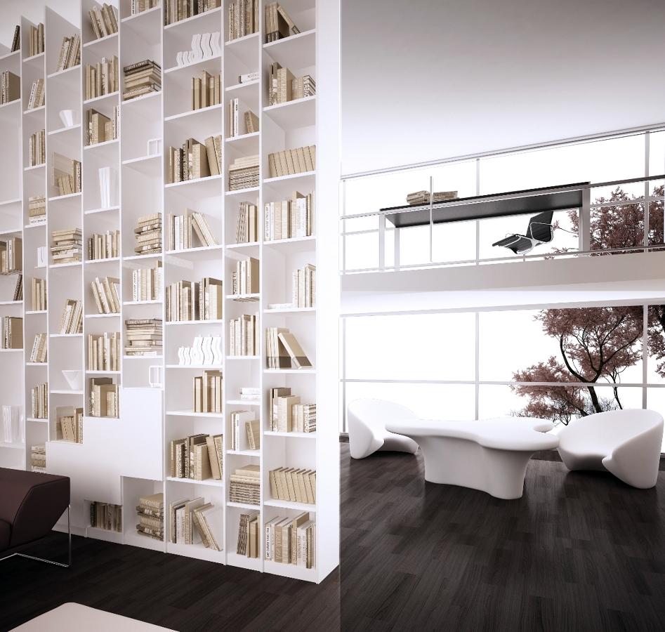 Muebles separadores muebles separador de ambientes o jardineras de bambu with muebles - Estanterias separadoras de ambientes ...