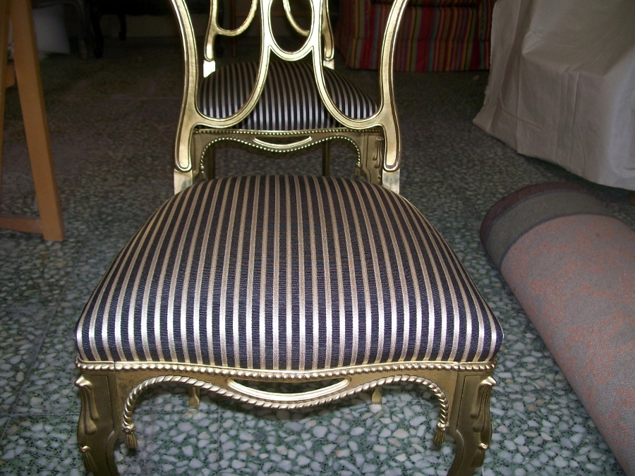 Foto silla clasica forja de tapicerias jav 359776 - Tapicerias en sevilla ...