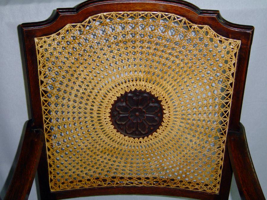 Foto silla de rejilla sol de tapicer a pons 259053 - Reparacion de sillas de rejilla ...
