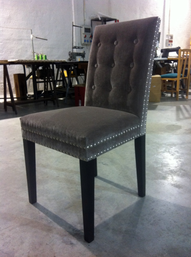 Foto silla tachuelas de tapiceria garnacho 379579 - Tapiceria de sillas precios ...