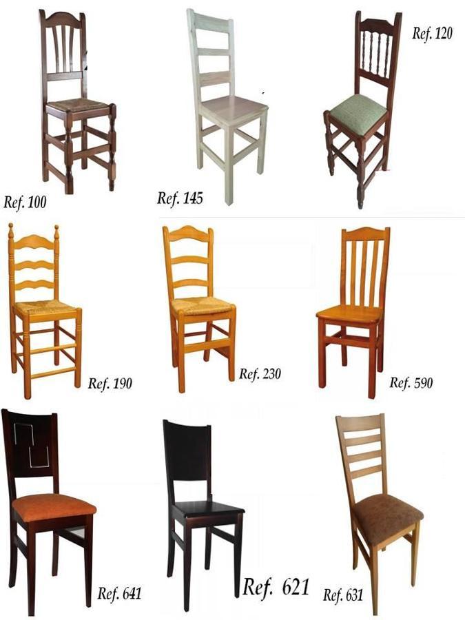 Foto sillas de madera de hosteleriamancha 601630 for Sillas economicas de madera