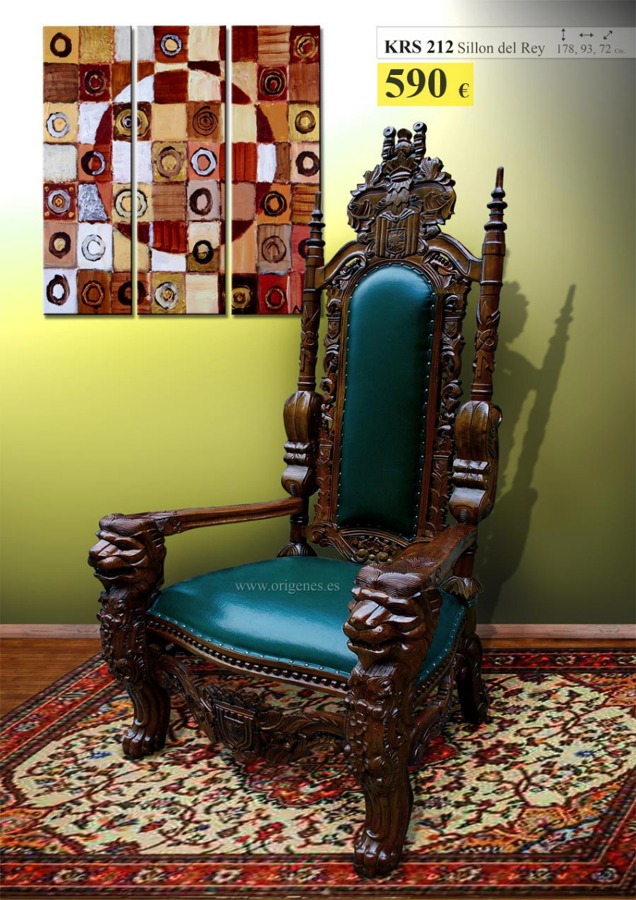 Foto sillon del rey de muebles origenes 193022 habitissimo for Muebles rey zamora