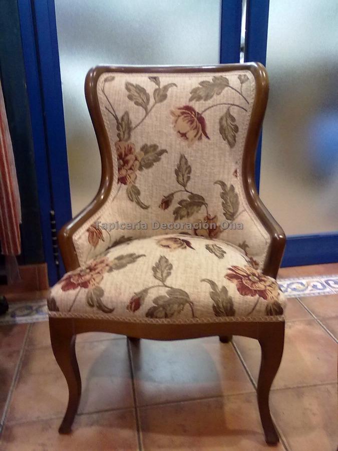Foto sillon habitaci n de tapicer a ona 143052 habitissimo - Tapiceros tarragona ...