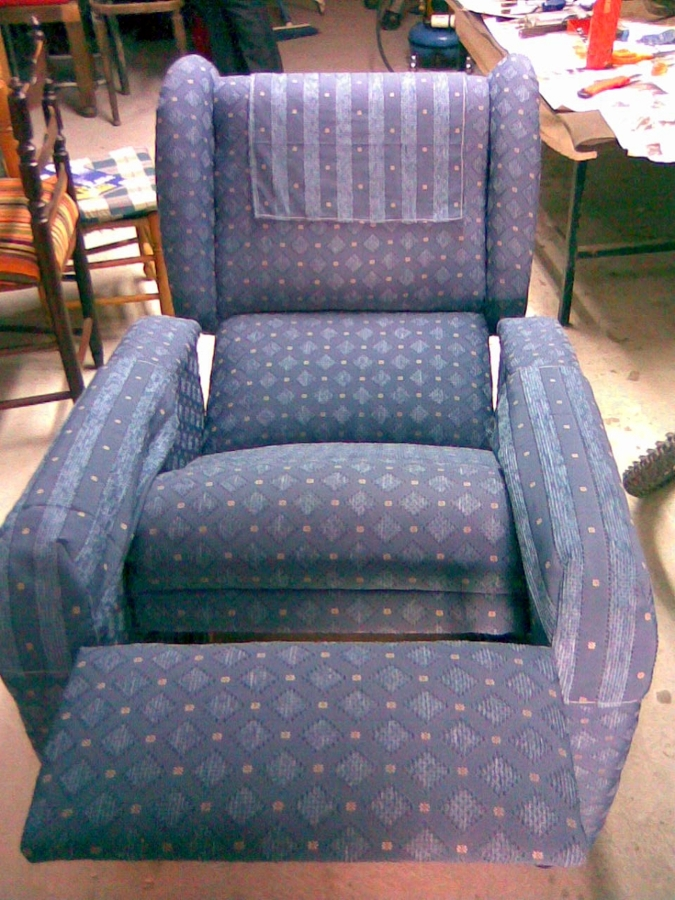Foto sill n reclinable de tapicer a ricardo 136191 - Tapiceros tarragona ...