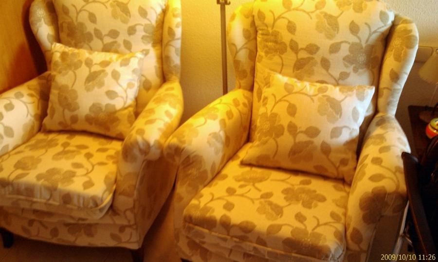 Foto sillones orejeros de tapicer a ricardo 136178 - Tapiceros tarragona ...