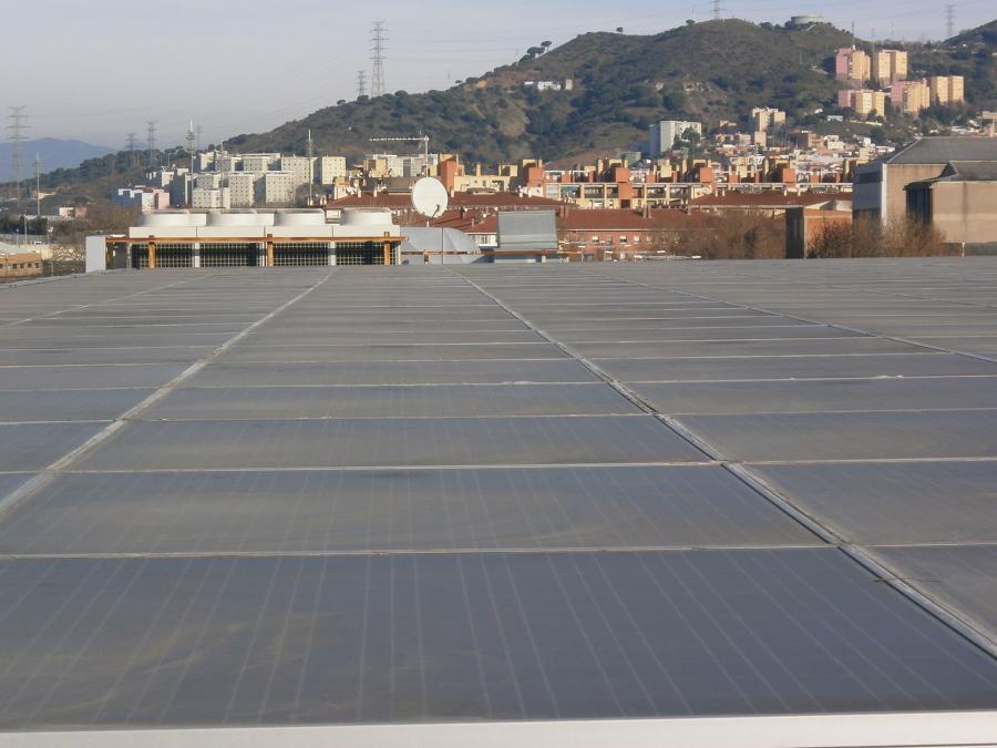 Fotovoltaica supermercado