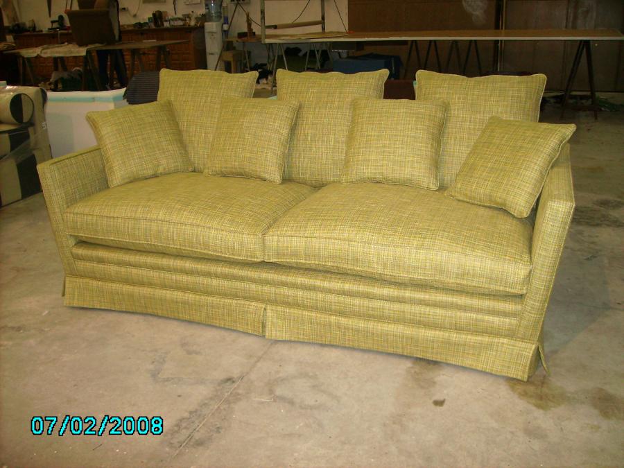 Foto sofa barco de tapiceria garnacho 382931 habitissimo - Tapiceros tarragona ...