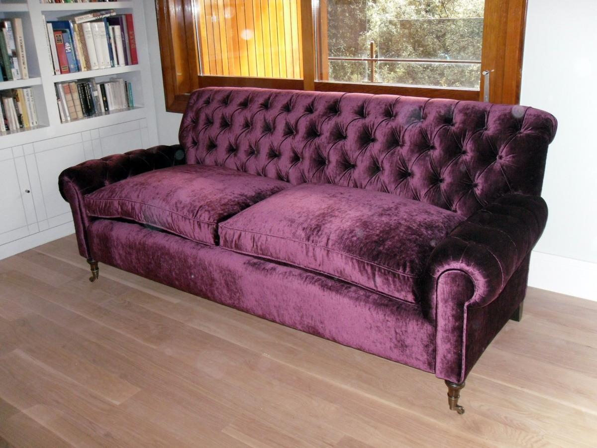 Foto sofa brazos y respaldo capitone de tapicer a juan - Respaldo para sofa ...