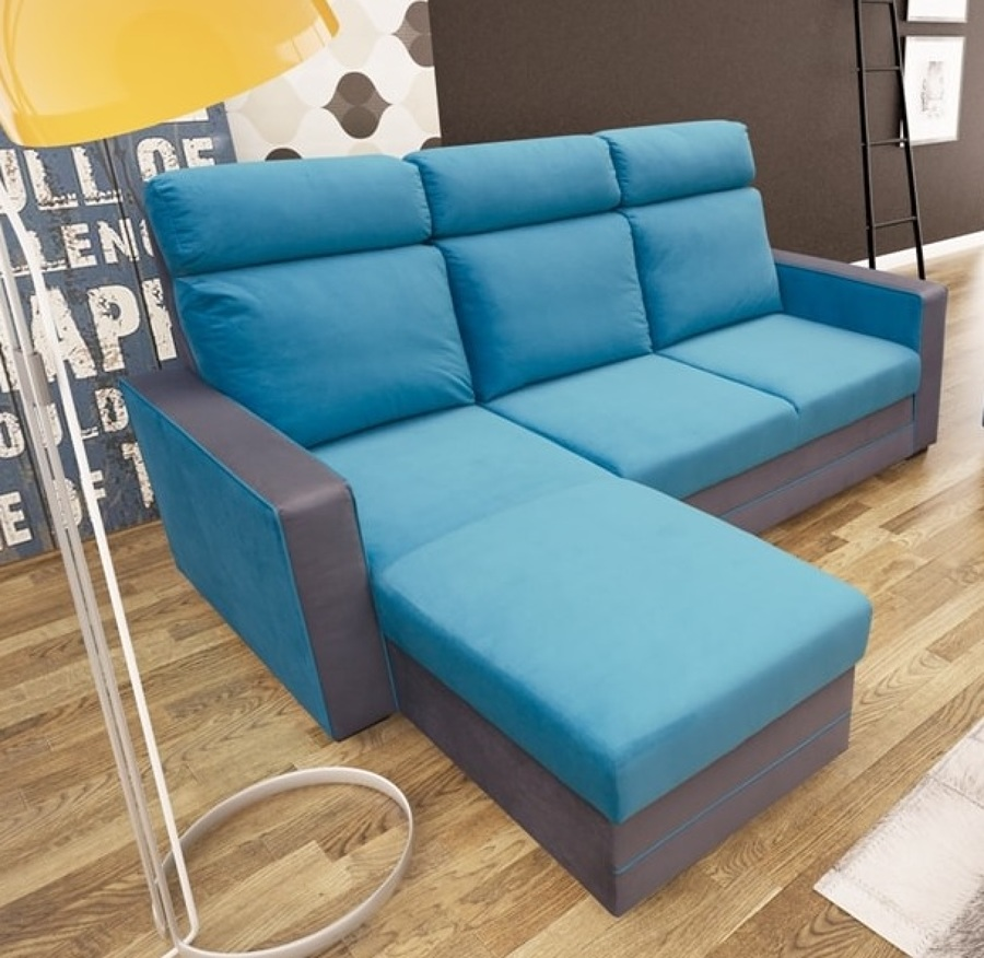 Sofá chaise longue cama – Miami
