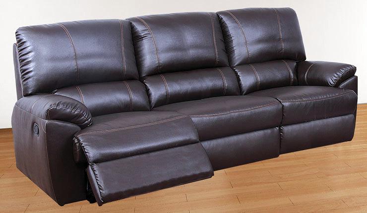 Foto sofa de piel de 3 plazas de muebles boom 326103 for Muebles boom burgos