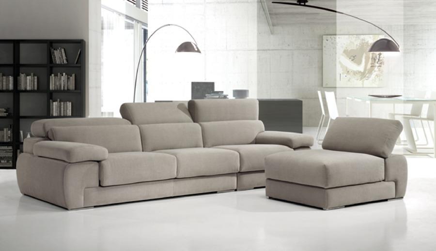 Zen Decoracion Albacete ~ Sofa moderno modular con chaislongue partida Gran posibilidad de