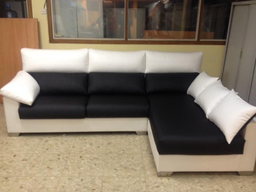 Foto sofa polipiel de tapiceria mjc s l 676114 - Sofa blanco polipiel ...