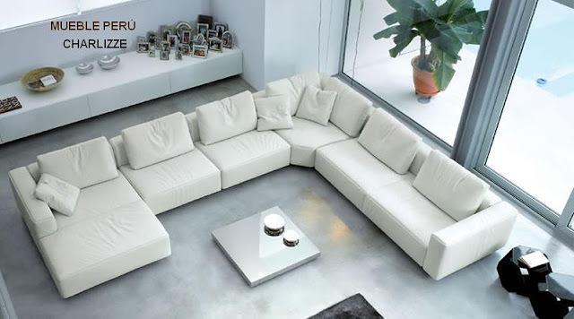 Foto sof rinconera tipo moderno muy c modo de tapizados for Sofas modernos madrid