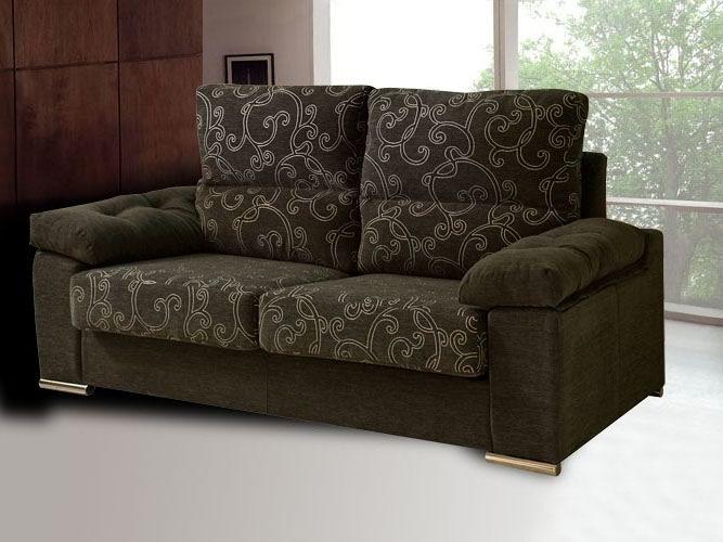 Foto sof tapizado en tonos marrones de tapizados segui for Tapizados sofas precios